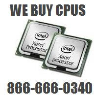 We buy CPUs and processors